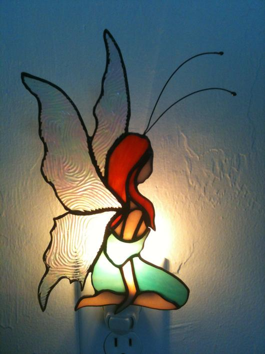 Fairy Night Light In On And Off Position Delphi Artist Gallery