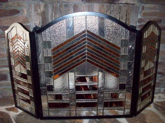mission style fireplace screen delphi artist gallery Arts and Crafts Fireplace Screen Mission Style Fireplace Tiles