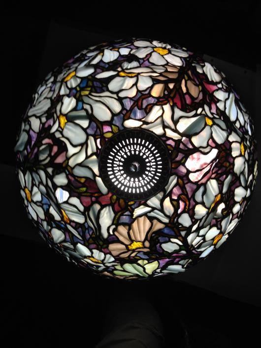 Magnolia Dome Floor Lamp Delphi Artist Gallery