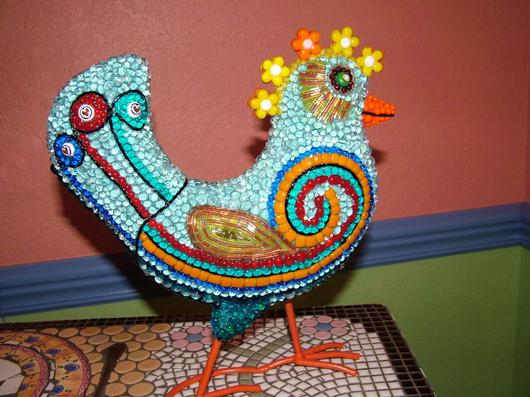 Funky chicken delphi artist gallery for Funky rooster tattoo and art gallery