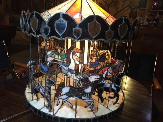 Used Dvds For Sale >> Glass Carousel - Delphi Artist Gallery