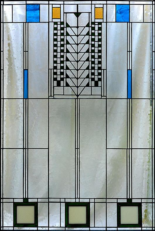 Variation Of Frank Lloyd Wright Tree Of Life Window