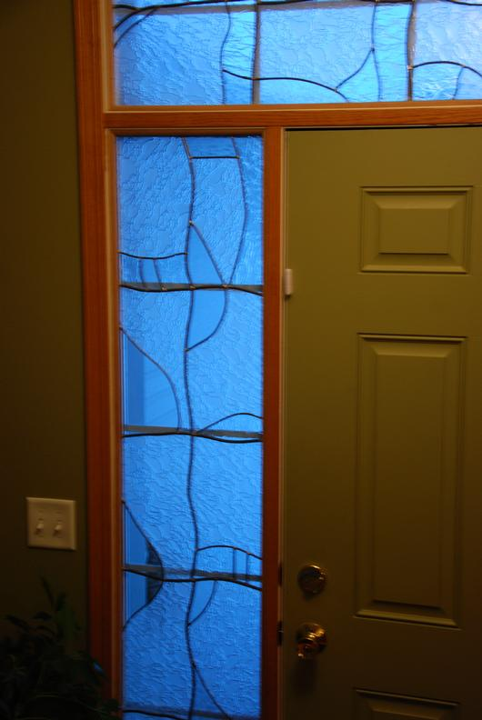 Stained Glass Side Lights For Front Door Delphi Artist