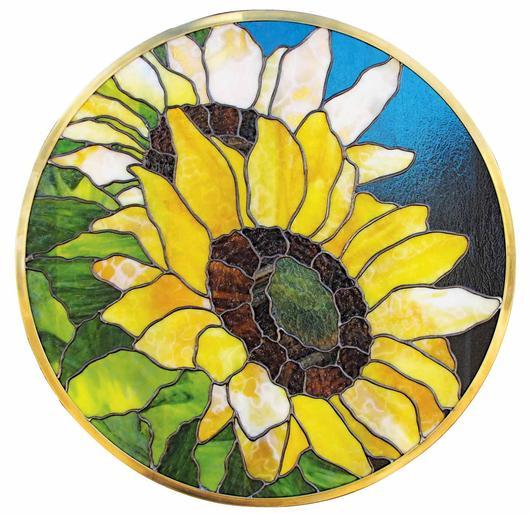 two sunflowers delphi artist gallery. Black Bedroom Furniture Sets. Home Design Ideas