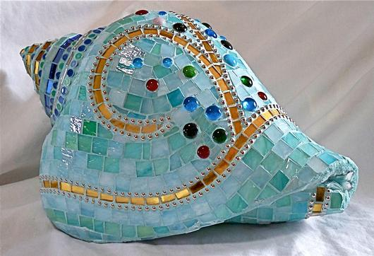 Conch Shell Mosaic Sculpture Delphi Artist Gallery
