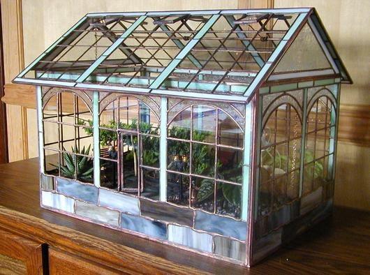 Victorian Greenhouse Delphi Artist Gallery