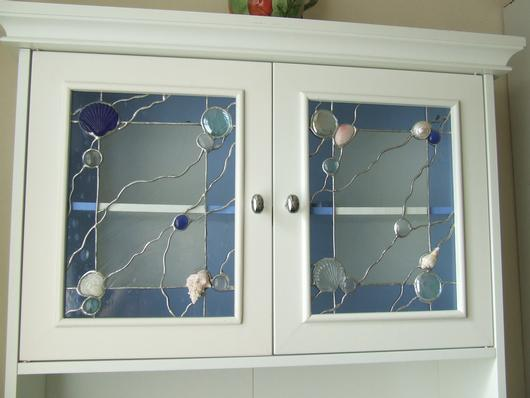 decorative glass panels for kitchen cabinets seashore cabinet doors delphi artist gallery 9558