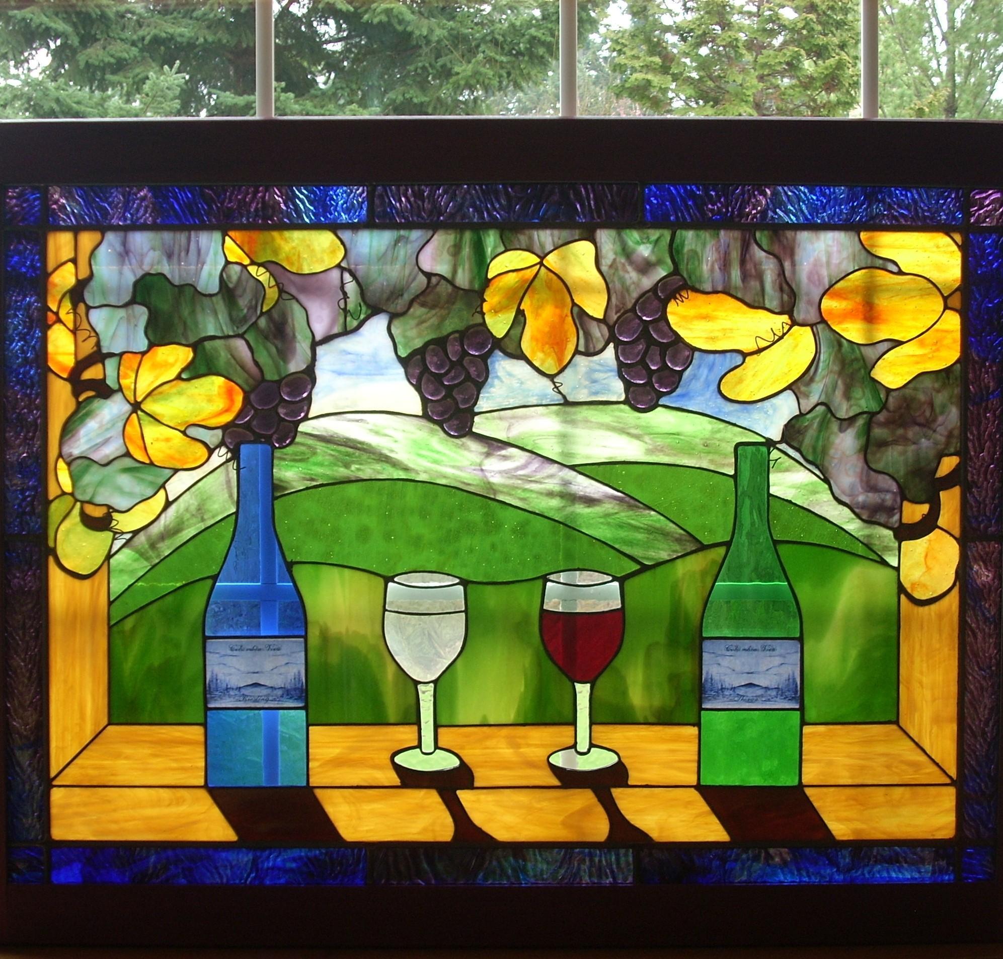 Wine Window Delphi Artist Gallery