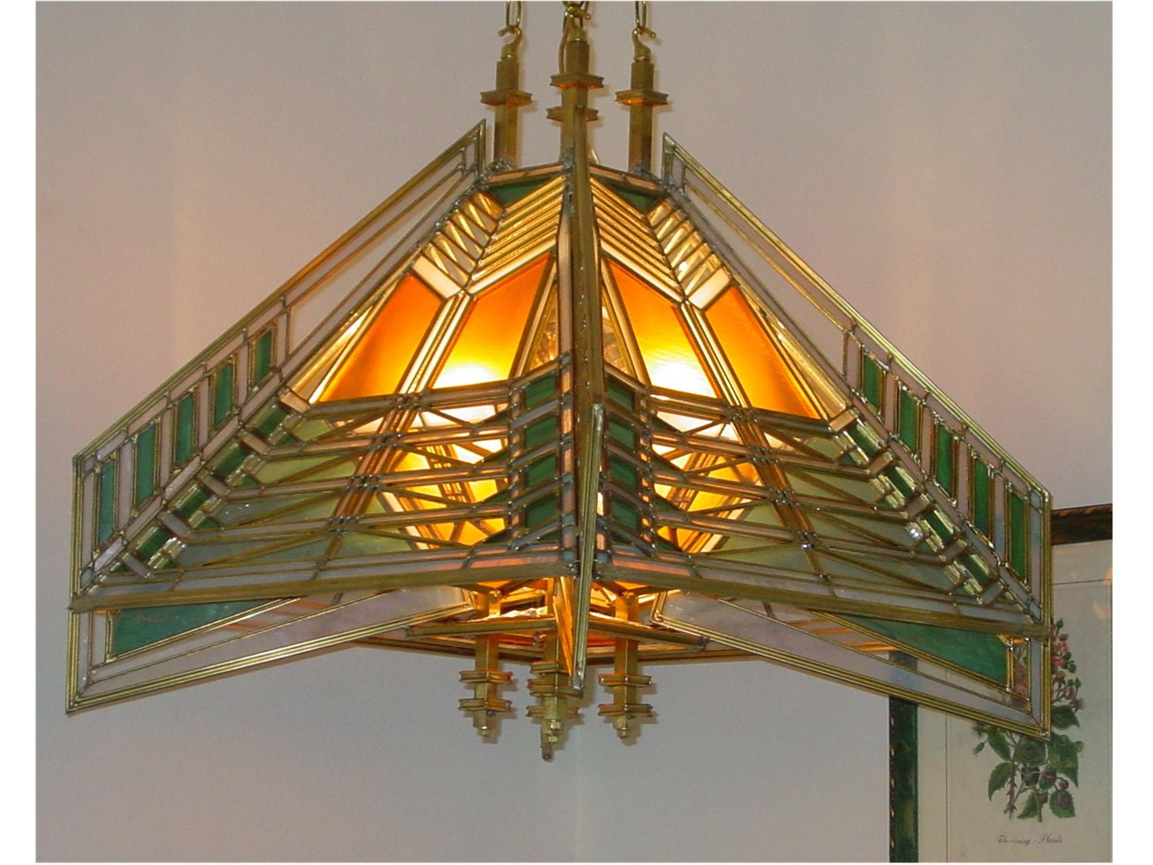 Dana House Frank Lloyd Wright Lamp