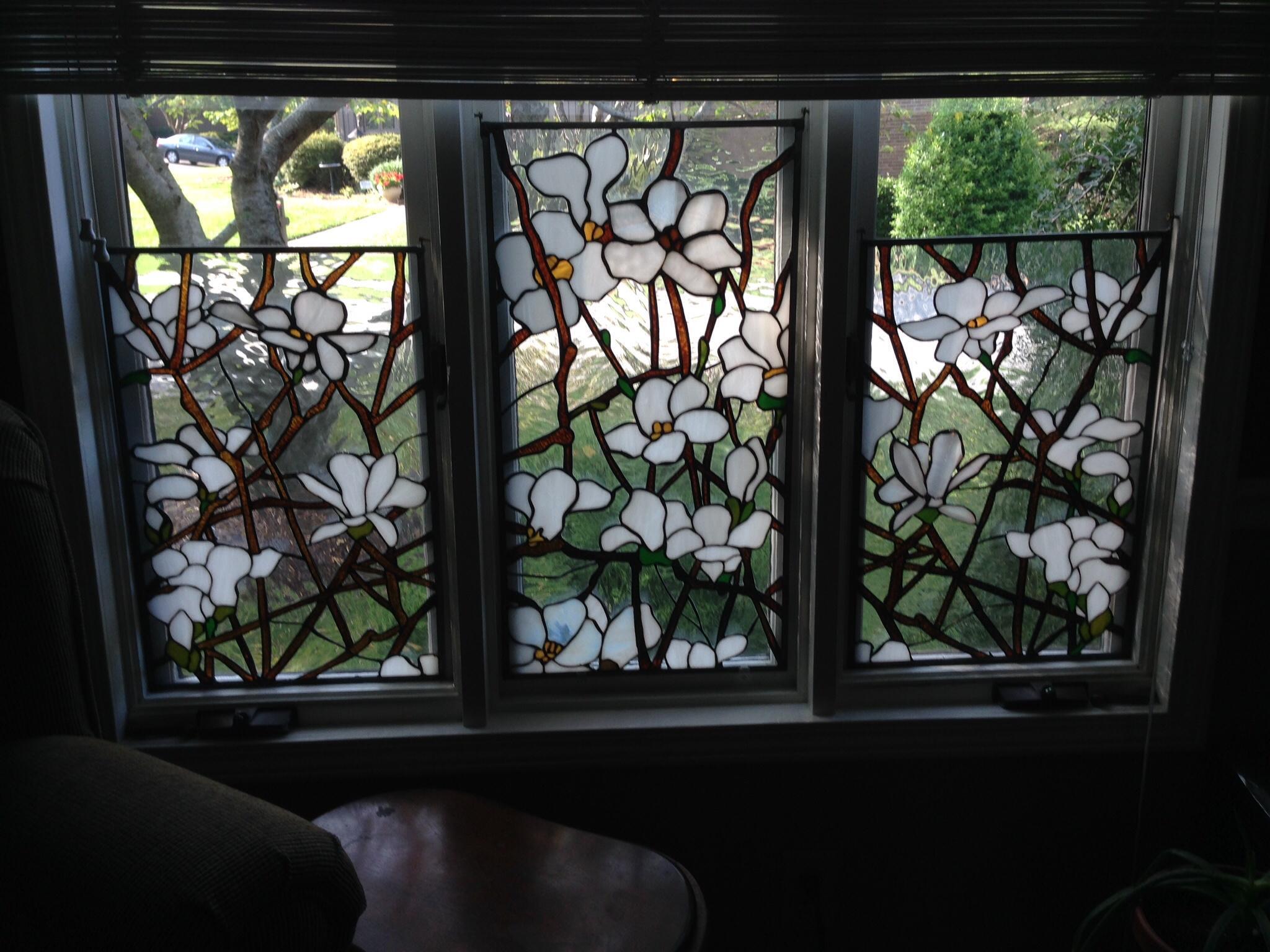 Magnolia Window Delphi Artist Gallery