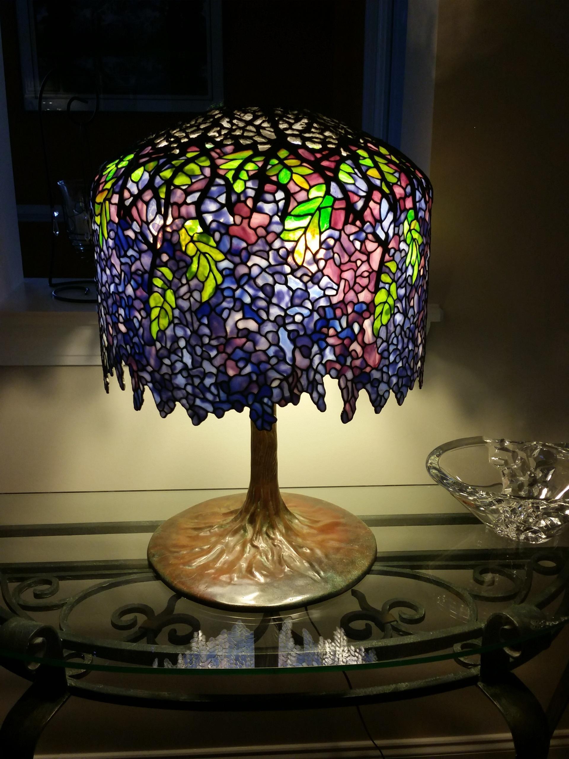 18 Quot Wisteria Lamp Delphi Artist Gallery