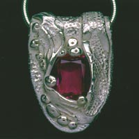 Fused Glass Cabochon & Silver Jewelry Clay Project