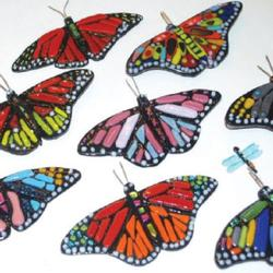 Fused Glass Butterflies & Dragonflies - Wesley Wong Class Details