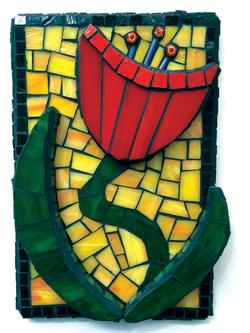 Exterior Mosaics: 2-D and Layered Bas-Relief Projects Class Details