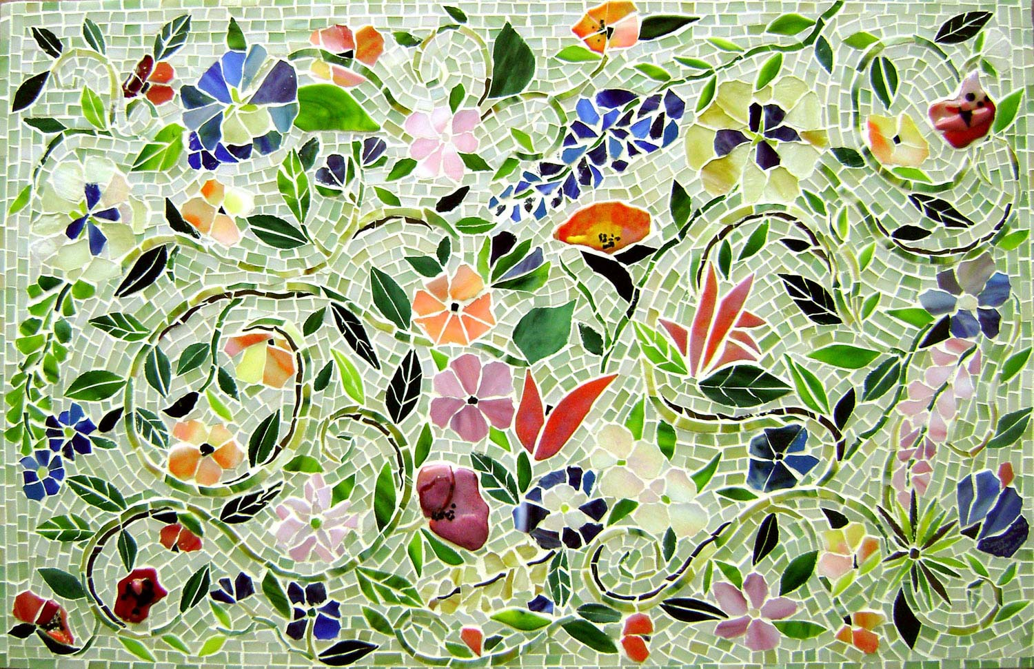 Mosaic Floral Murals with Tom Snyder Class Details