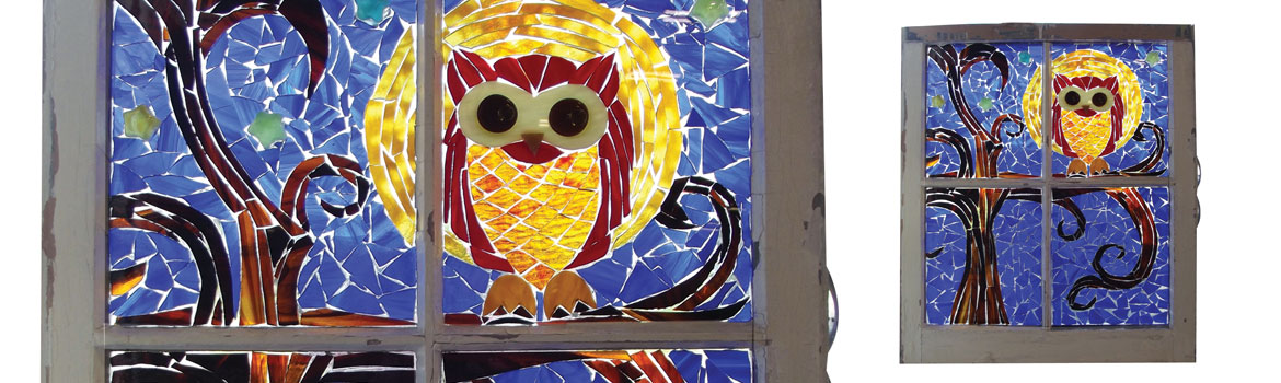 Glass on Glass Window Mosaic Class Details