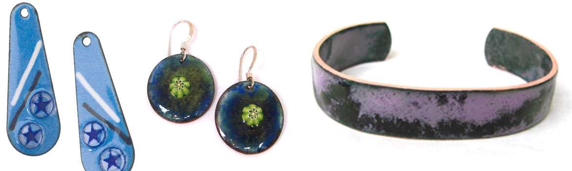 Copper Enameled Jewelry Class Details