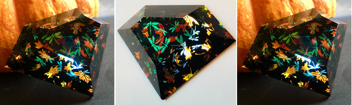 Superman Faceted Dichroic Glass Pendants - Kent Lauer Class Details