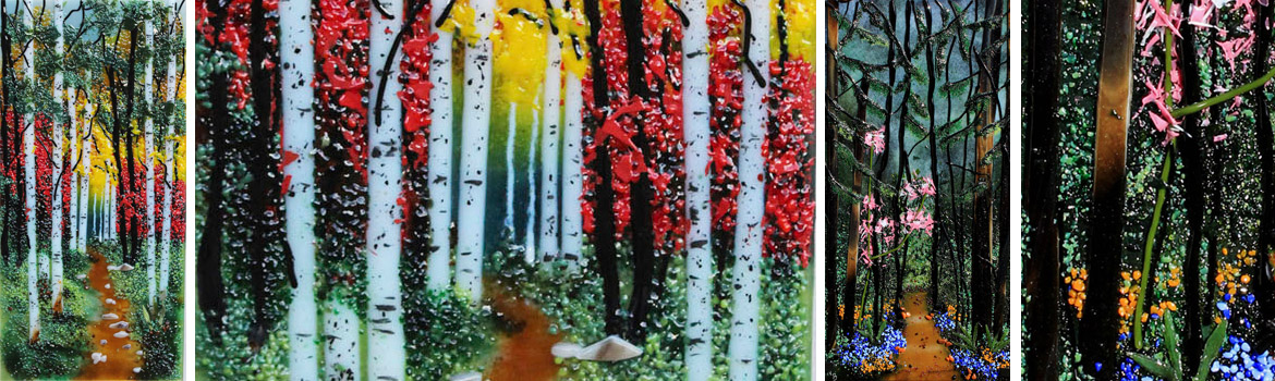 3-Day Nature-Scapes in Glass with Nadine Booth Class Details