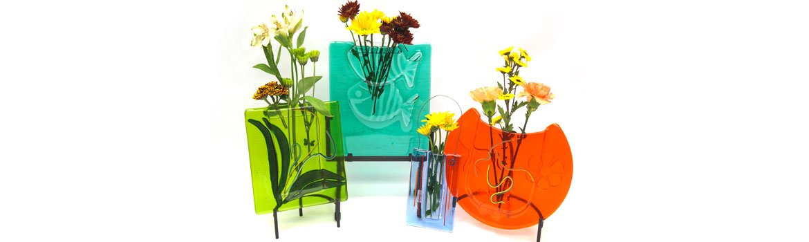 Decorative Fused Pocket Vases Class Details