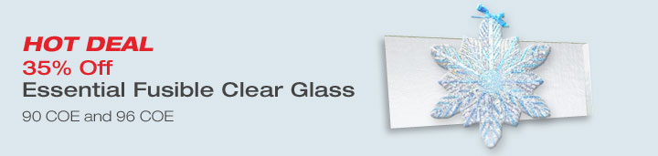 Don't Miss Once A Year Deals on Essential Clear Glass