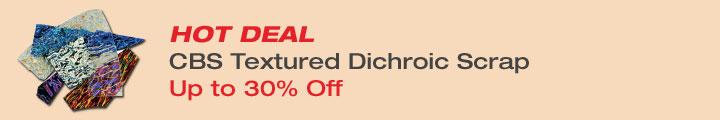 Save on Dichroic Scrap Packs