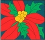 Poinsettia Panel