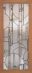 Abstract Circles Cabinet Panel