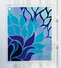 Blue Flame Hanging Panel