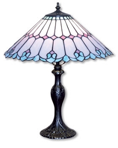 art nouveau table lamp project   stained glass lamp projects at delphi