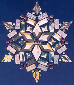 Snowflake Project Stained Glass Projects Ideas Fusing