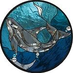 Killer Whale Beveled Panel