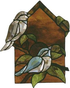 Birdhouse Beveled Panel