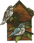 Birdhouse Beveled Panel