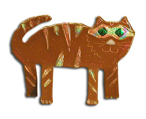 Brown Cat Project Glass Fusing Projects At Delphi Glass