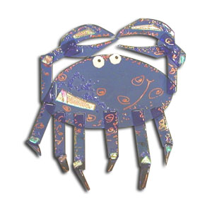 Crab Figurine Project Stained Glass Projects Ideas Fusing