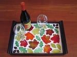 Hot Glass Mosaic Serving Tray