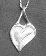 PMC Silver Jewelry Clay Pendant