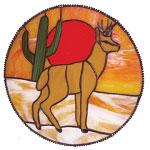 Southwest Deer Pattern