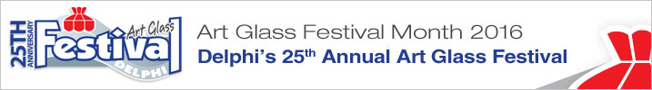 25th Anniversay 2016 Art Glass Festival