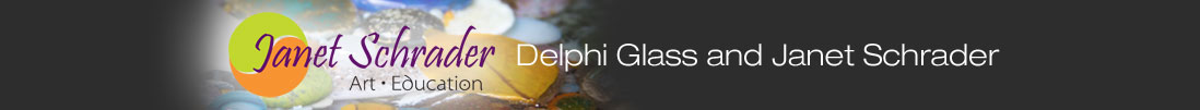 Delphi Glass and Janet Schrader