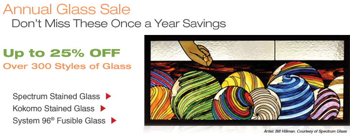 Annual Glass Sale