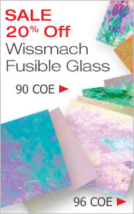 Wissmach Fusible Glass Sale