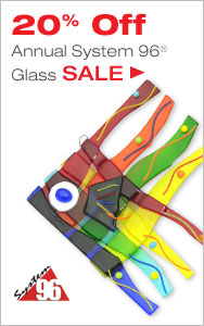 Annual System 96 Glass Sale