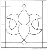image regarding Free Printable Stained Glass Patterns called Absolutely free Stained Gl Models - Cost-free Towards Obtain