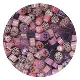 Pink & Purple Millefiori Assortment, 2 oz - 104 COE