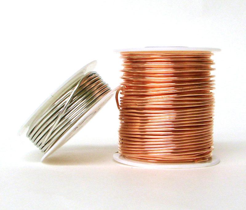 14 Gauge Copper Wire 1 Lb Finishing Supplies Delphi Glass