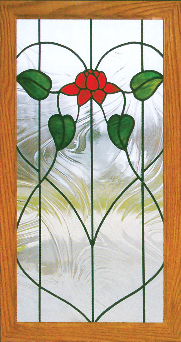 300 Stained Glass Cabinet Door Designs Traditional