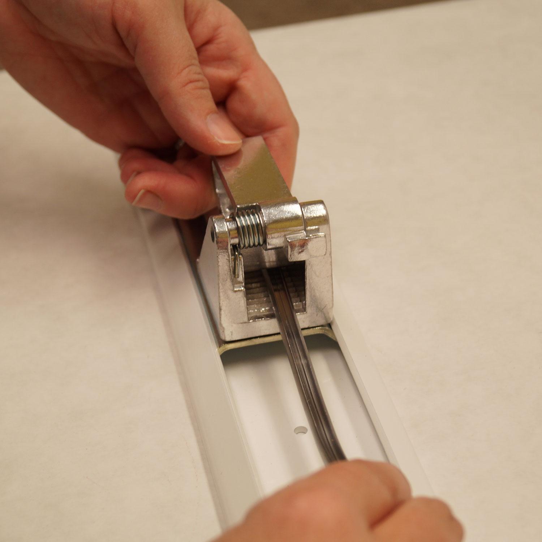 Adjustable Rails for Lead Stretcher