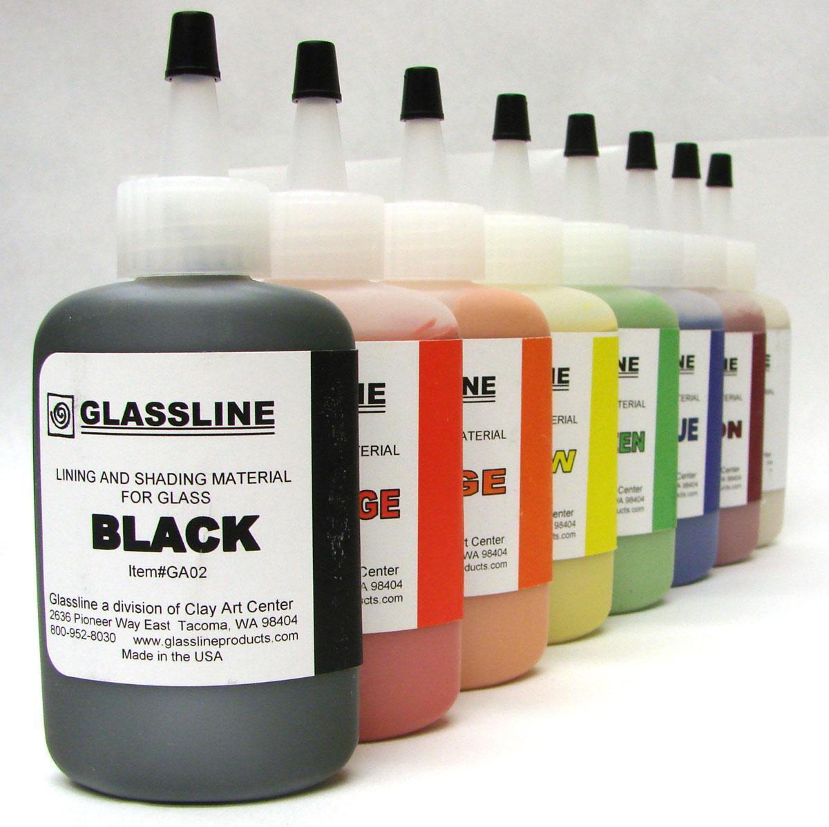 Glassline Pen - Black | Chalks Delphi